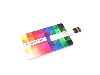 USB Stick Credit Card 2.0 - 4 GB